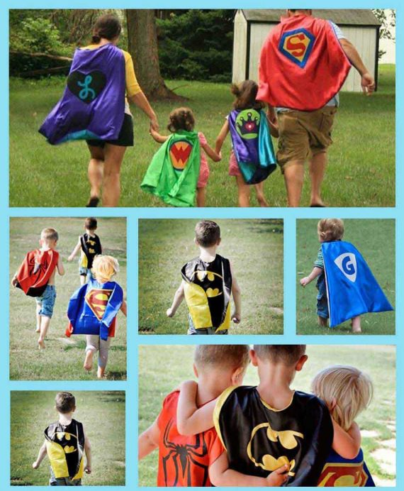 Super Hero Cape And Mask Sets for childrens