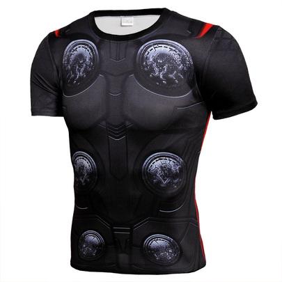Dri-Fit thor short sleeve compression shirt crewneck