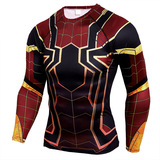 long sleeve spiderman costume t shirt dri fit
