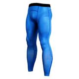blue compression pants for mens