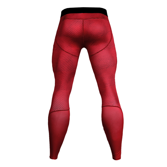red camo compression pants mens