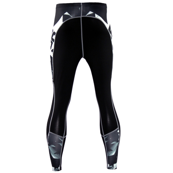 mens black compression pants for workouts