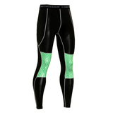 best compression leggings green black