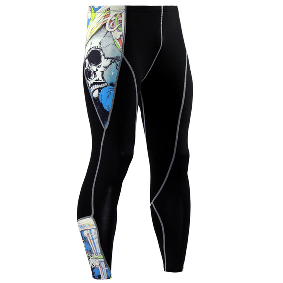 recovery compression tights blue