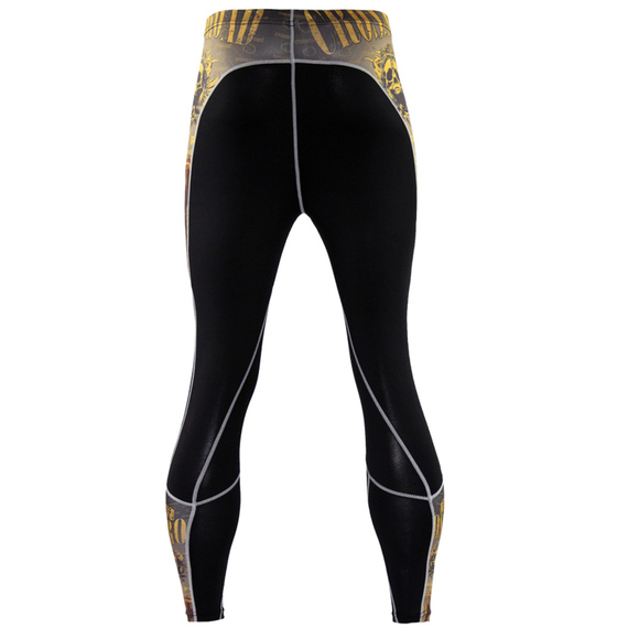 yellow compression pants mens