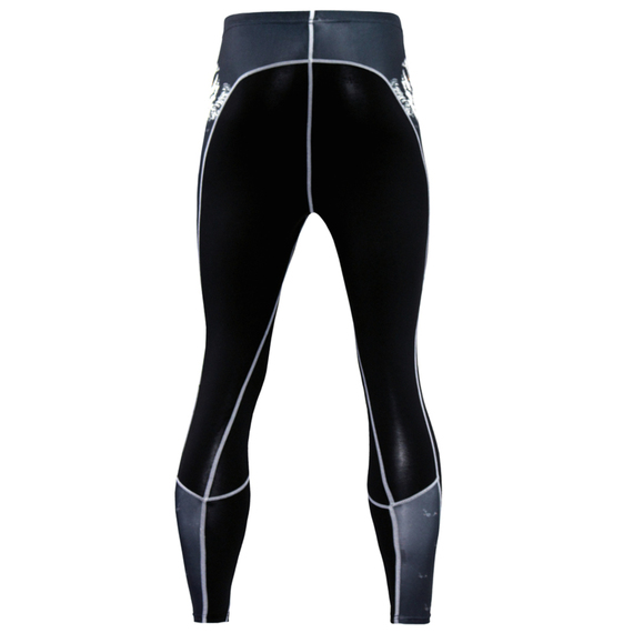black basketball compression pants mens