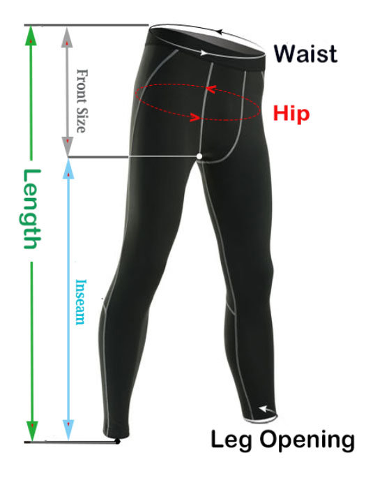 Mens Running Compression Pants