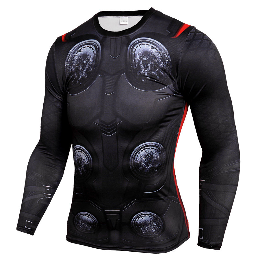 Thor Infinity War Compression Shirt Long Sleeve