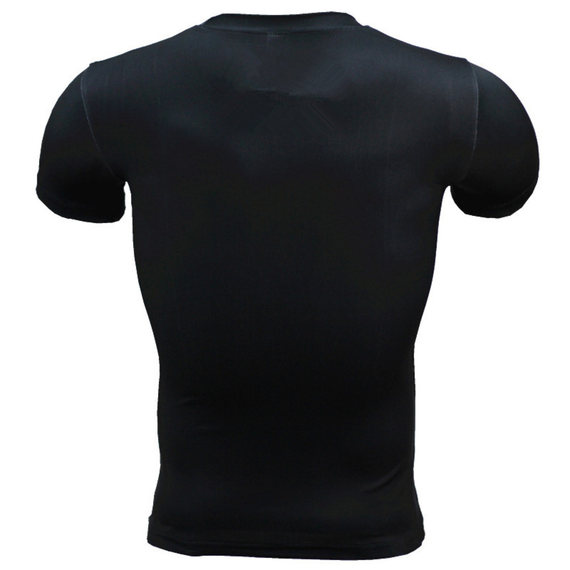 Mens punisher compression workouts shirt Marvel short sleeve running t shirt