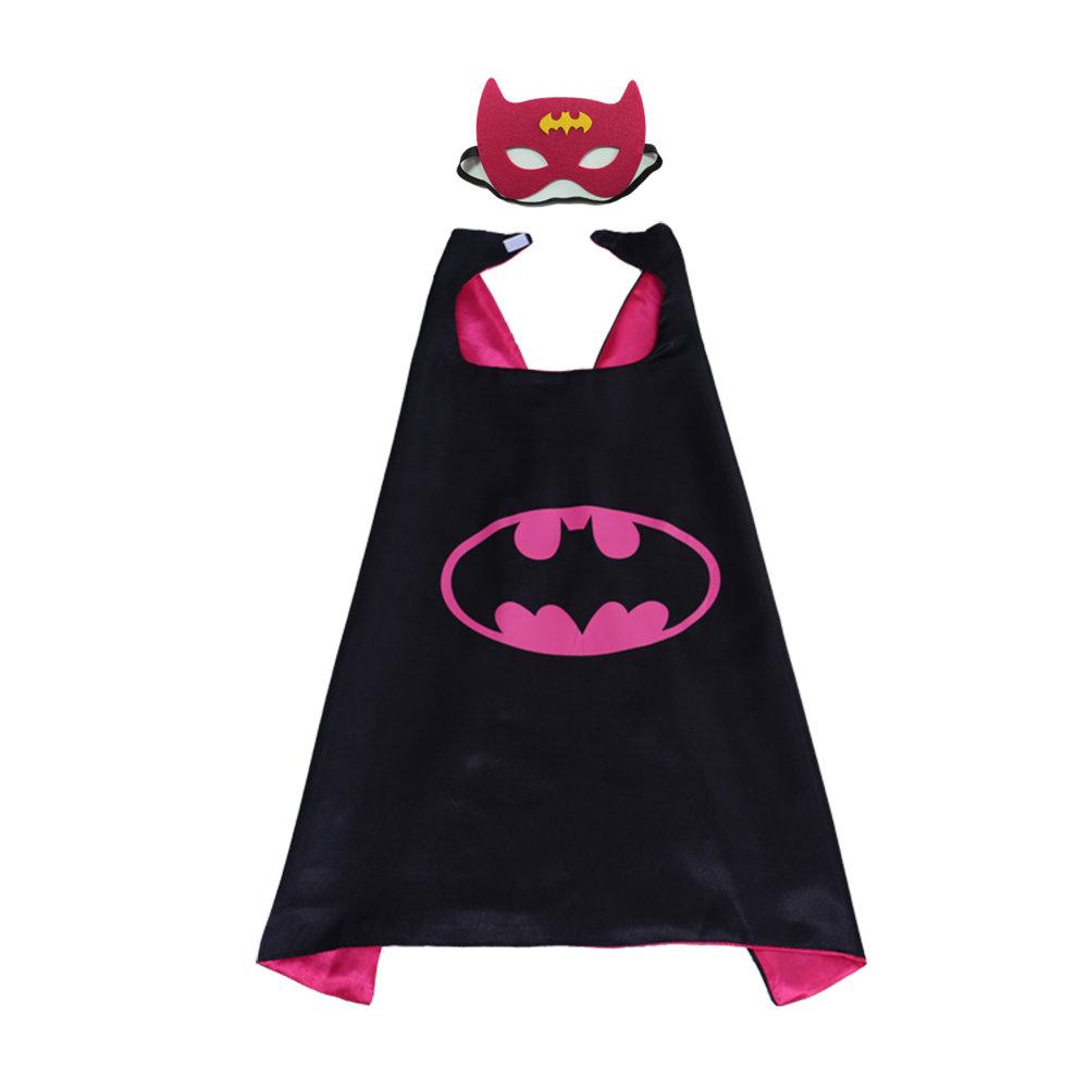 Super Hero Batman Cape and Mask Set For Kids