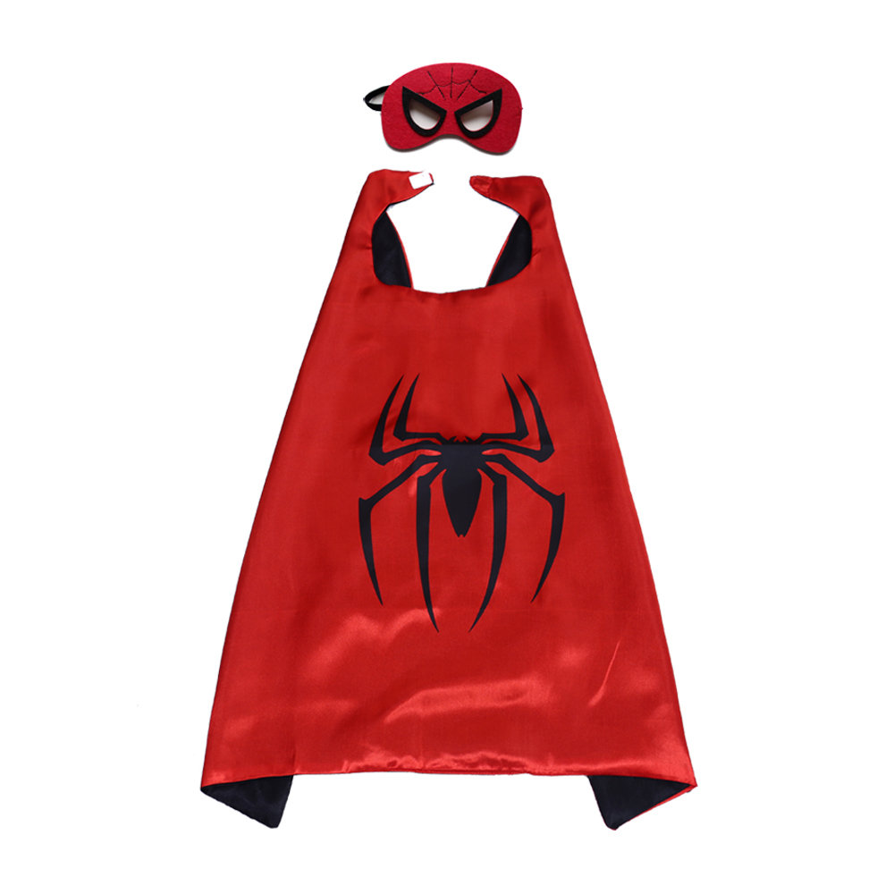 Marvel Comics Costume Spiderman Cape and Mask For Kids