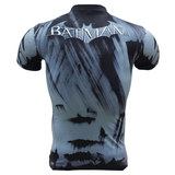 short sleeve bat man halloween costume cool superhero compression shirt