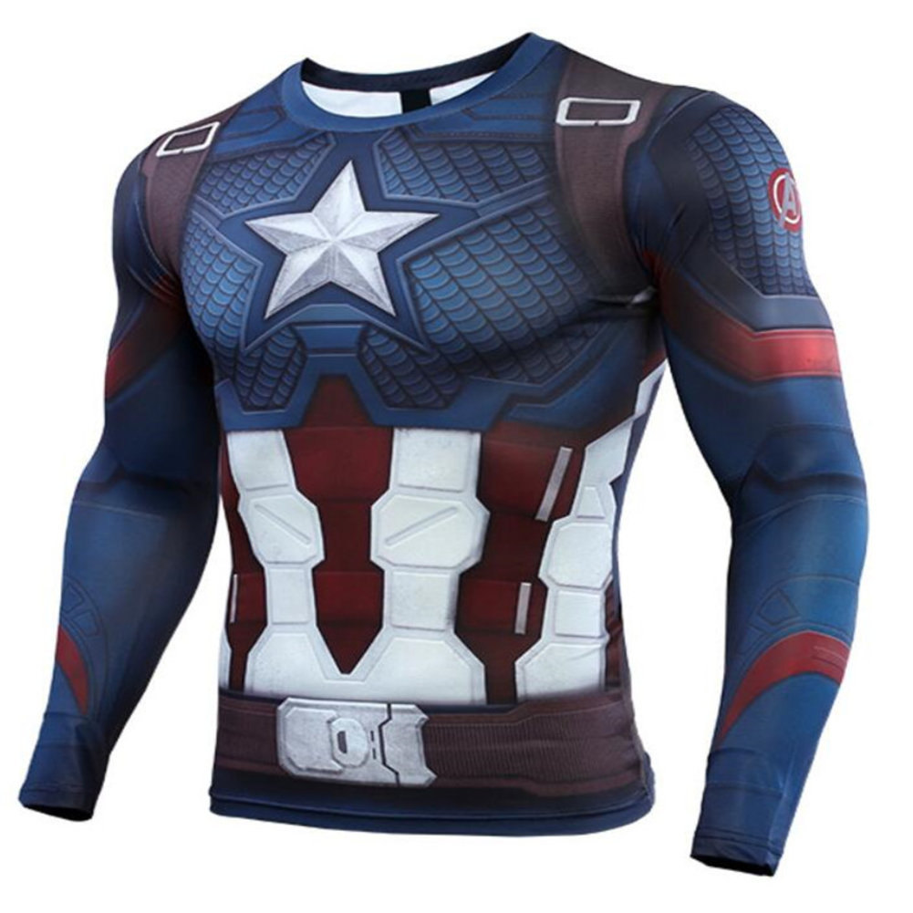 Marvel Avengers Endgame Captain America Workouts Shirt