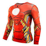 long sleeve iron man dri fit shirt