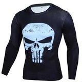 Long Sleeve Punisher Comic T Shirt