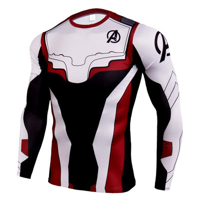 long sleeve avengers quantum realm shirt for boys