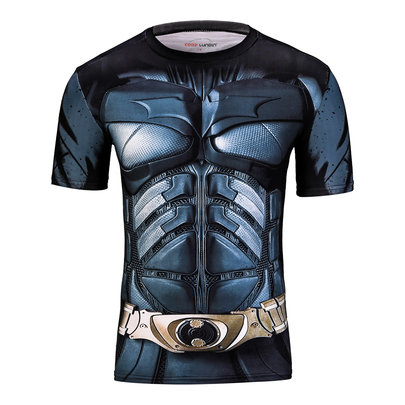 batman t shirt dark knight short sleeve print t shirt for young men