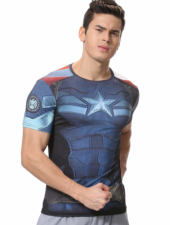 captain america graphic t shirt