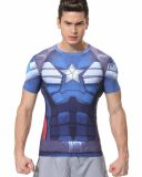 team captain america shirt