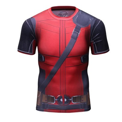 deadpool compression shirt