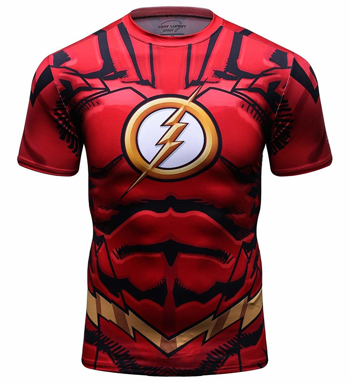 Flash Superhero Compression Shirt Mens