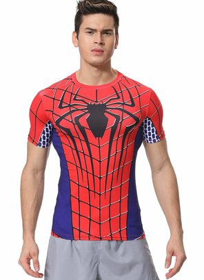 marvel spider man logo shirt