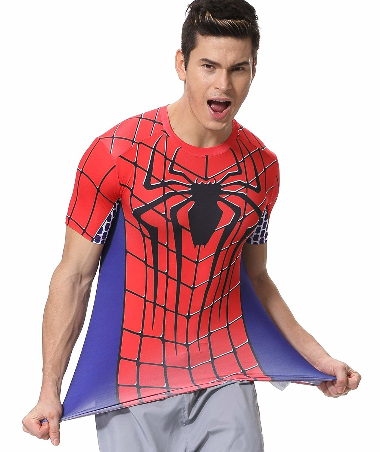 Red Spiderman Logo T Shirt