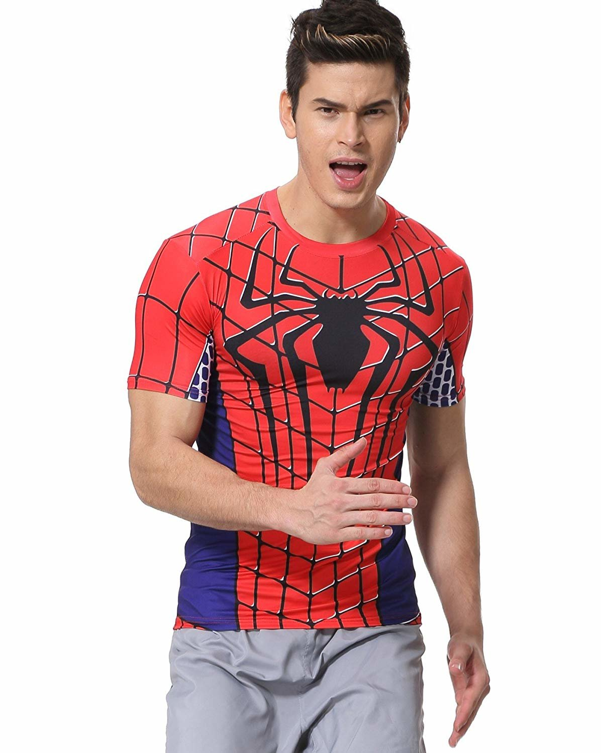 spider man costume shirt for sale