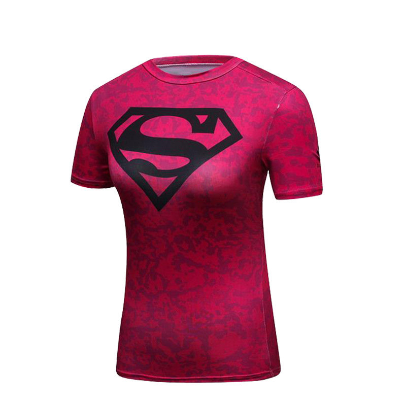 Classic Superman T Shirt For Girls