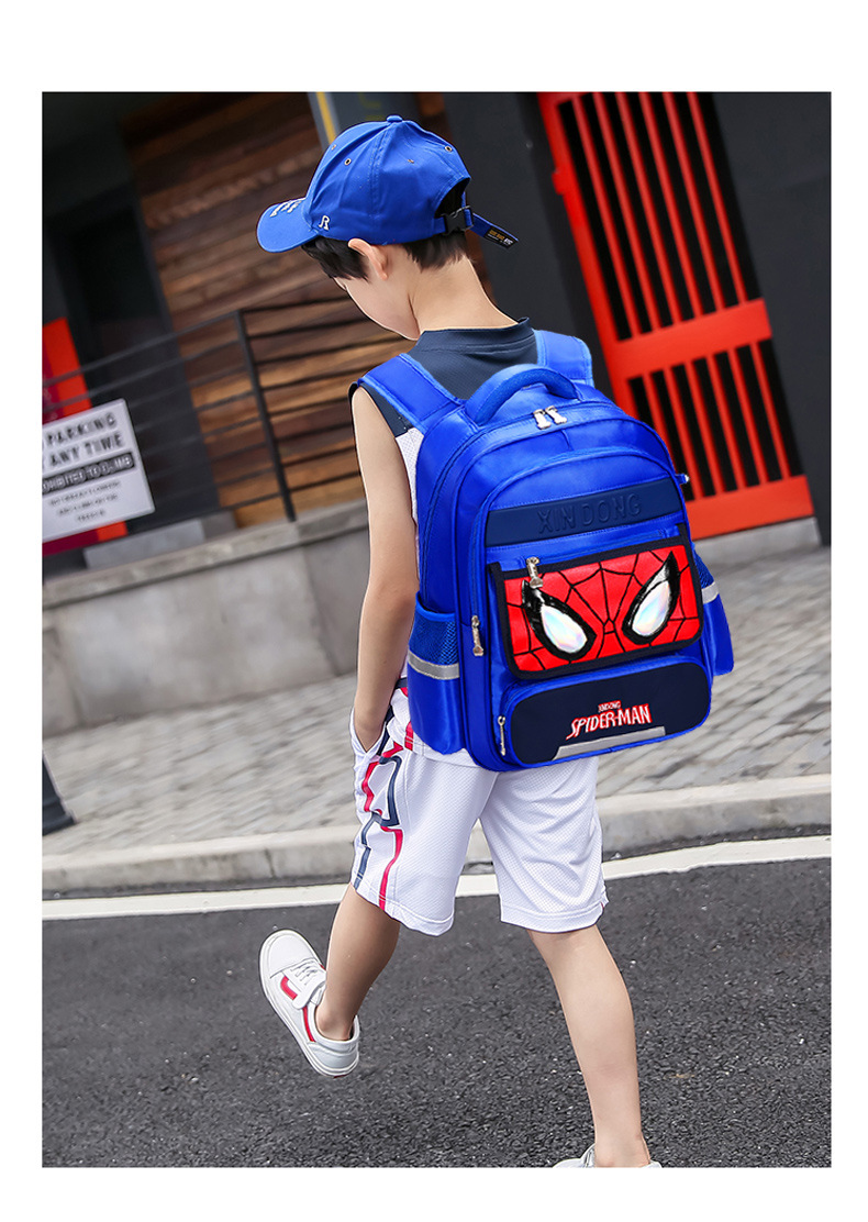 spider-man backpack for kids school bag with Pencil Bag
