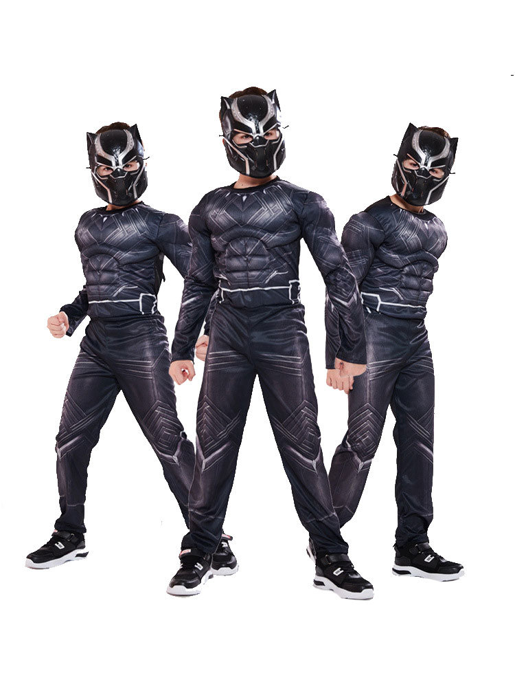 Black Panther Halloween Costumes 2020 Black Panther Costume For Boys   PKAWAY