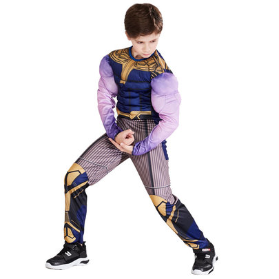 boys thanos costume cosplay