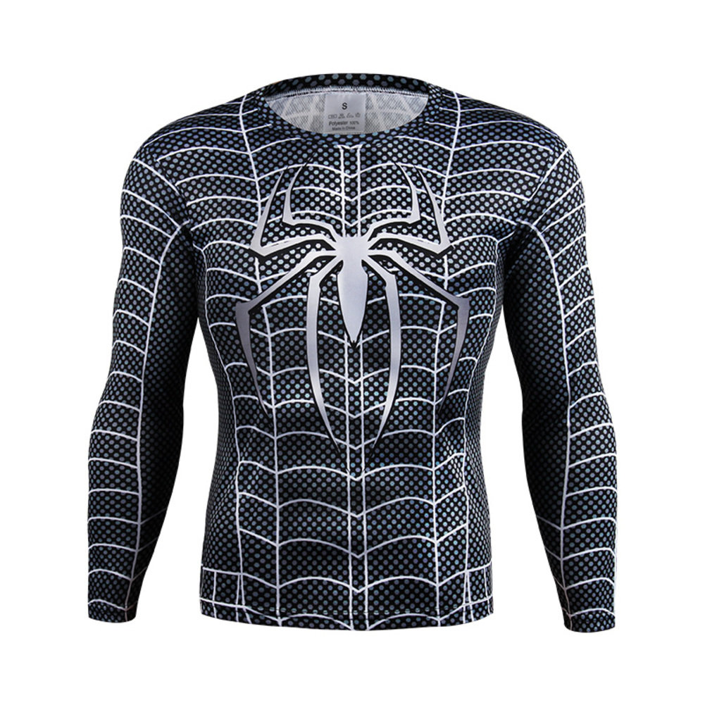 Spiderman Costume Shirt Long Sleeve