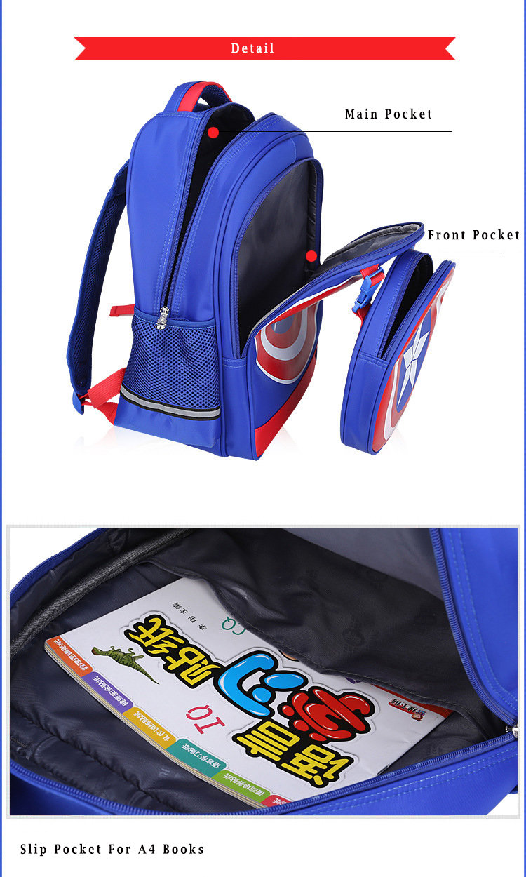 avengers captain america shield backpack