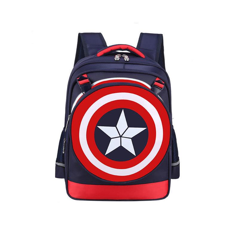 Marvel Captain America Civil War Kids Backpack For School