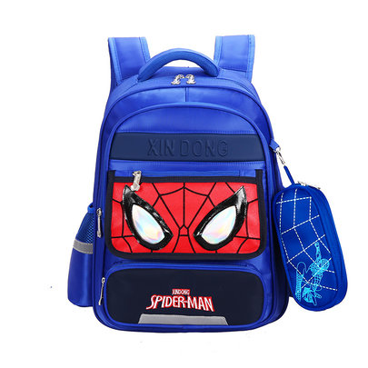 spiderman backpack and lunch bag