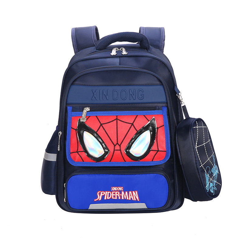 Spiderman Backpack Superhero School Bags For Kids