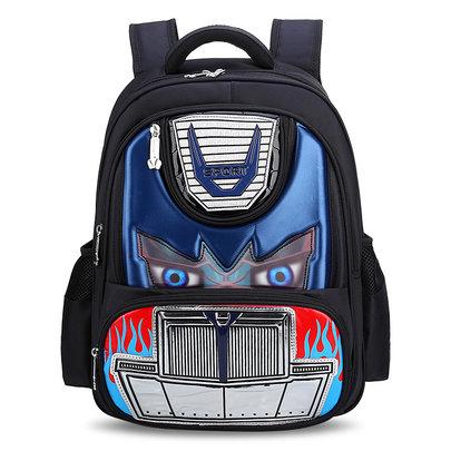 transformers backpack for kids light blue