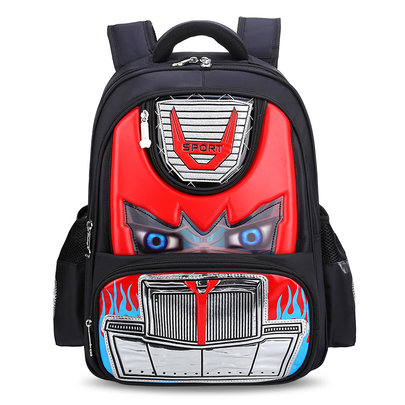 Transformers School Backpack For Childrens