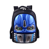 Transformers backpack with the eyes of the robot