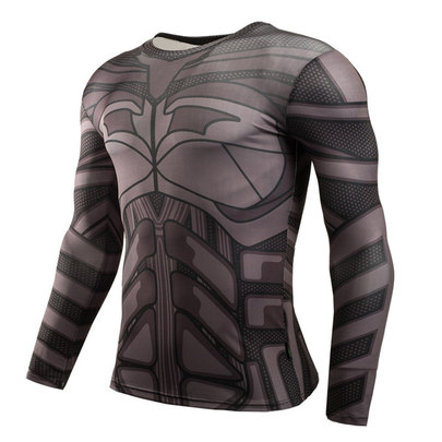 long sleeve batman workout shirt