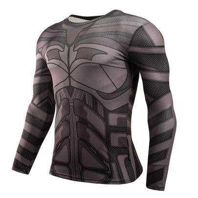 long sleeve batman workout shirt
