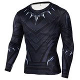 long sleeve black panther t shirt