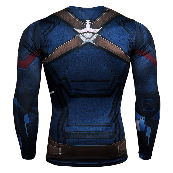 Fitted Captain America Shirt