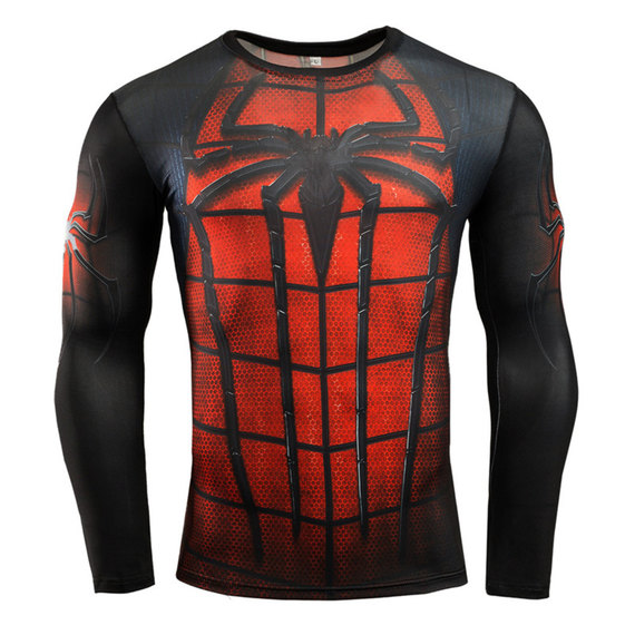 mens spiderman costume t shirt