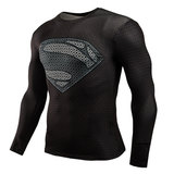 long sleeve superman birthday shirt