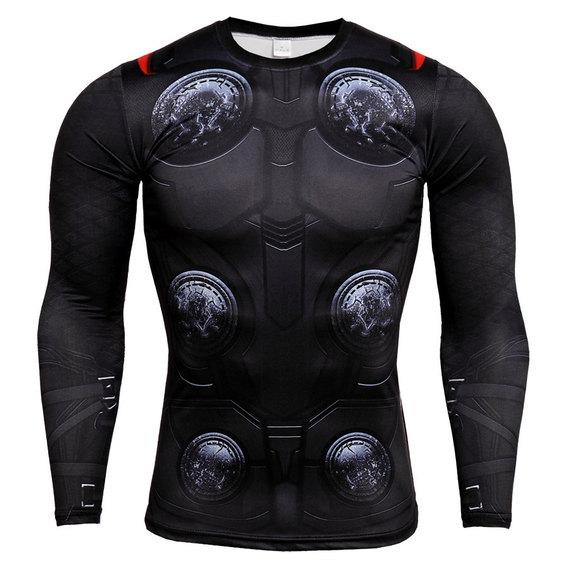 thor infinity war compression shirt