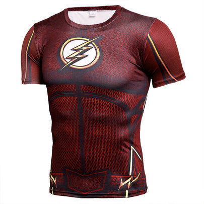 dc comics the flash logo t shirt