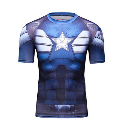 personalized captain america t shirt
