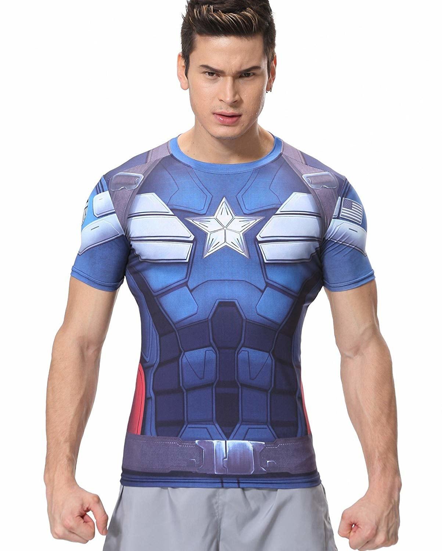 Captain America Printed T Shirts